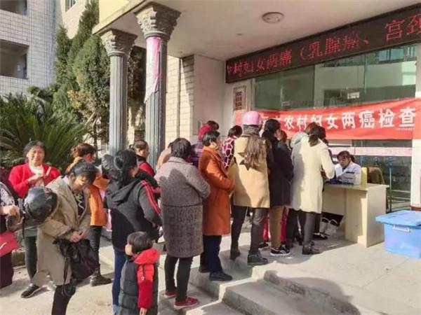 """乐平市2019年农村""""两癌""""普查进行中 ——乳腺癌普查篇!"""