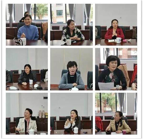 市妇联召开市直机关女干部文化生活建设座谈会